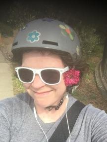 helmet on a sunny day
